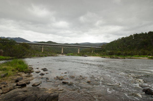 MacKillop's Bridge stands well above the Snowy River now, but it was not always so.