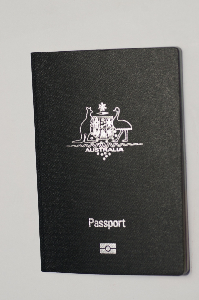 my new passport has arrived at last !