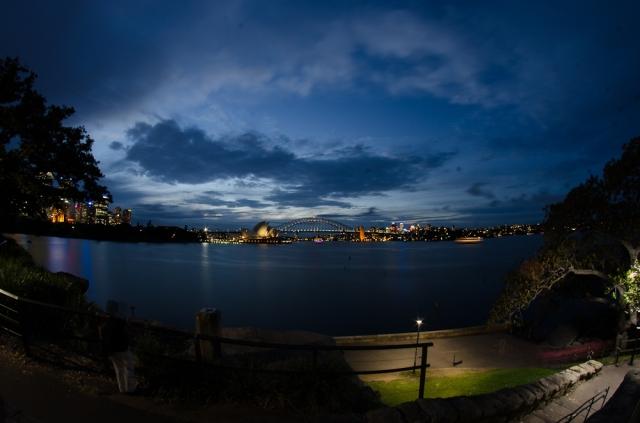 Sydney at dusk