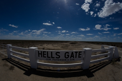 """Hell's Gate"" station, Hay Plains"