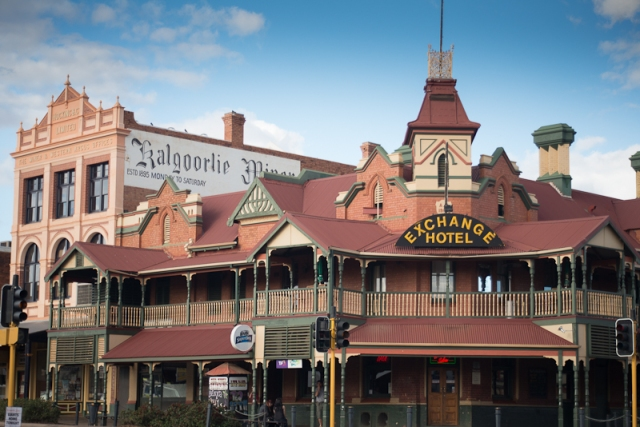 One of the old pubs that line the streets of Kalgoorlie