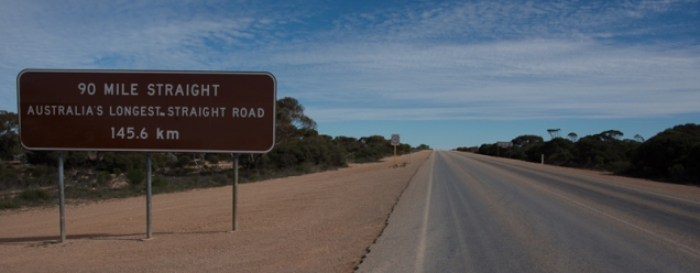 "The ""90 Mile Straight"" is said to be the longest dead straight road in the world"