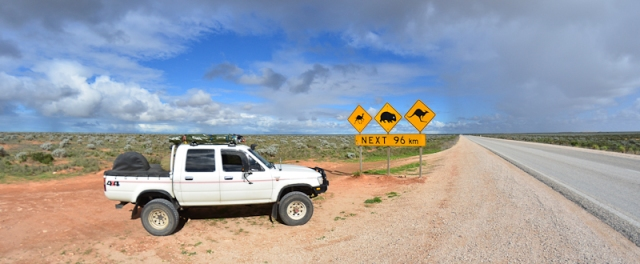 One of the most photographed road signs in Australia ?