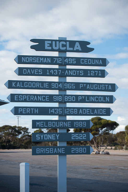 it's a long way from Eucla to anywhere