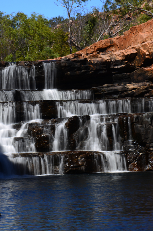 Bell gorge falls
