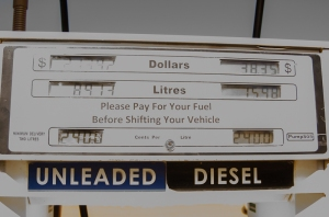 The most expensive fuel I've seen
