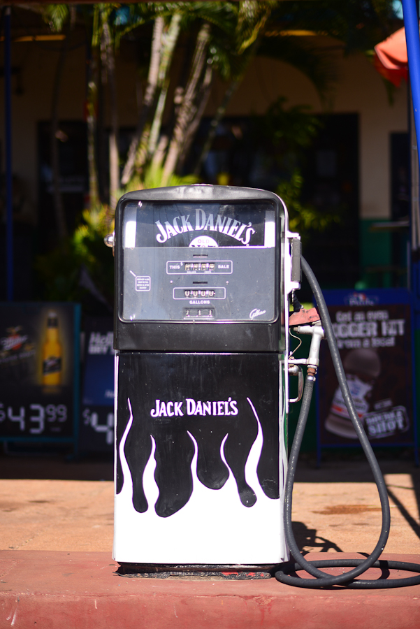 Jack Daniels on tap ? humour at a Northern Territory roadhouse