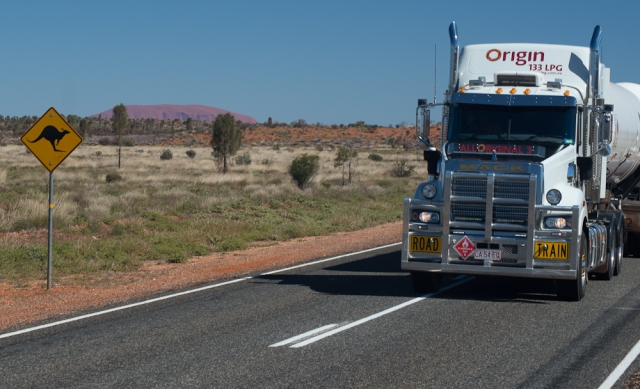 roos, roadtrains and the Rock