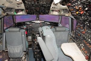 707 cockpit ..look at all those switches!