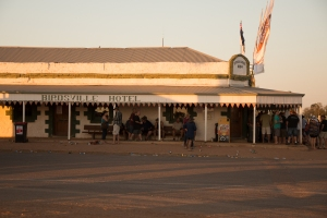 The legendary Birdsville Hotel