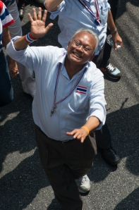 Leader of the People's Democratic Reform Committee (PDRC)  Suthep Thaugsuban