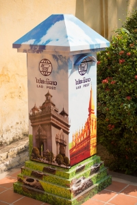Laos mail box