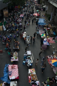 We see a closed road, Thais see a business opportunity