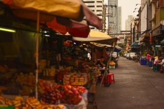 Bang Rak fruit market
