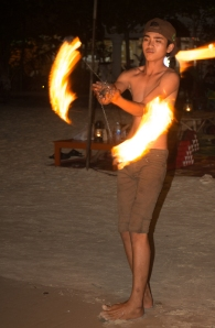 The ubiquitous fire show