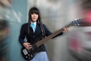 Rock'n roll schoolgirl