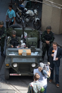 Pre-coup martial law media op yesterday