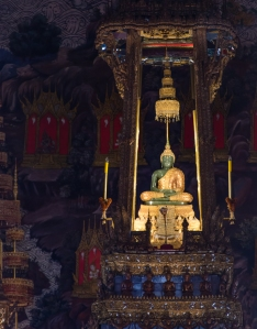 The fabled Emerald Buddha