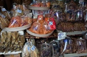Assorted dried seafood