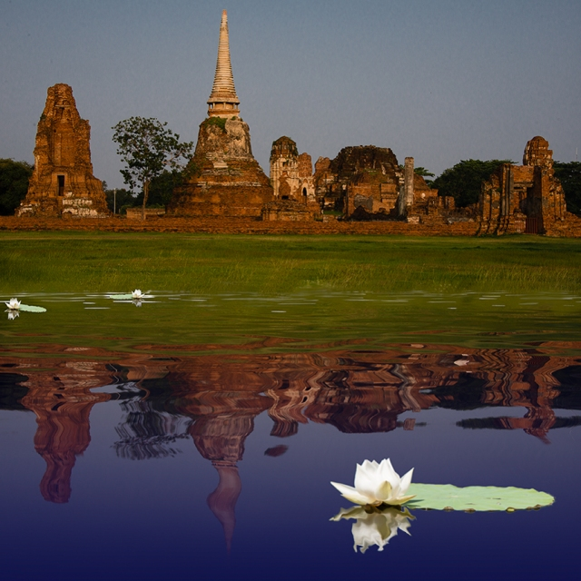 Wat Mahatat, Ayyuttaya, Thailand