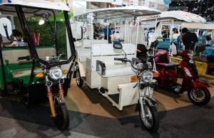 Electric tuk tuks