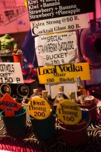 Buckets of booze