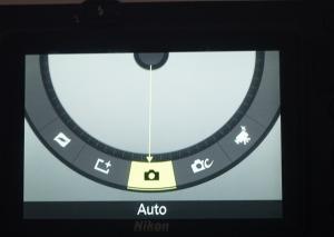 Nikon's tilt motion control