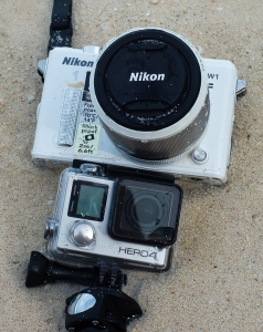 Nikon 1 AW1, GoPro 4 Silver