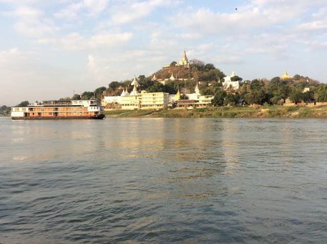 Some of the temples of Sagaing