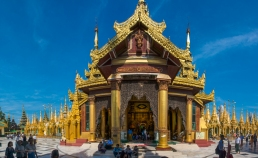 Shwedagon temple