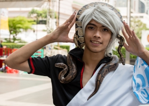 Snakes alive !