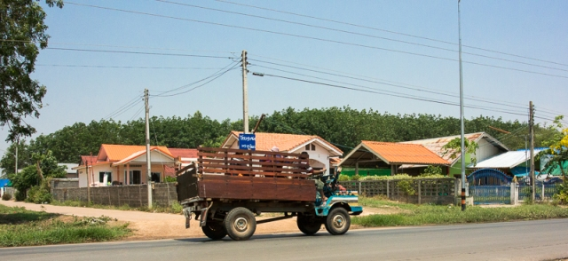The village, and local transport