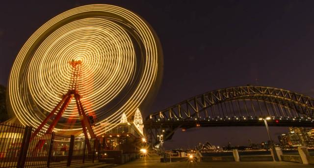 Ferris wheel, Luna Park