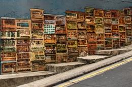 Street mural, Soho, Hong Kong Island