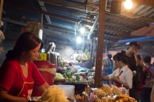 Night market, Luang Prabang