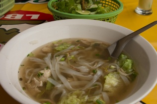"Laos version of Vietnamese ""pho"""